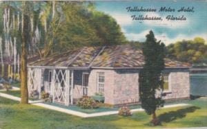 Florida Tallahassee The Tallahassee Motor Hotel Typical Cottage 1951