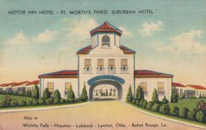 FT.  WORTH , Texas , PU-1941 ; Motor Inn Hotel