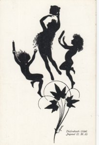 DIEFENBACH : Fantasy Silhouette , 00-10s ; Jugend II. Bl. 35