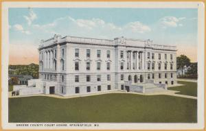 Springfield, MO., Greene County Courthouse -