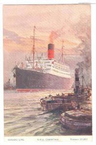 Ocean Liner CARINTHIA , 00-10s Cunard LIne