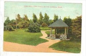 Fort Hill Park, Well House, Lowell, Massachusetts, PU-1908