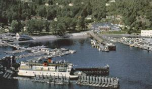 Black Ball Ferry at Horseshoe Bay Terminal, West Vancouver, British Columbia,...