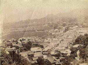 japan, TAKEO 武雄市, Saga, Panorama (1903) Real Photo