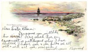 19021  NY  Fishers Island   Race Rock Light
