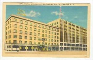 Hotel Hilton, Harrison & Montgomery Streets, Syracuse, New York, 1930-1940s