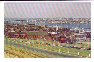 MacDonald Bridge from Citadel Hill, Halifax, Nova Scotia