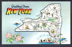 Greetings From New York,Map