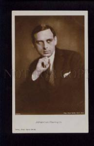 074224 JOHANNES RIEMANN German Movie Star vintage PHOTO