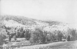 Boneville Georgia Scenic View Real Photo Antique Postcard J40750