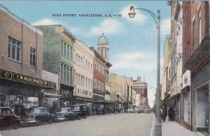 South Carolina Charleston King Street Woolworth 1955 sk3439