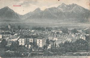 Kežmarok Kezmarok Kesmark Slovakia 1903