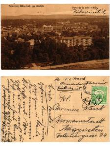 CPA AK CLUJ KOLOZSVÁR látképének egy részlete urba vidajo ROMANIA (503504)