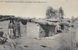Indian Huts , MOJAVE Desert , California , 1900-10s