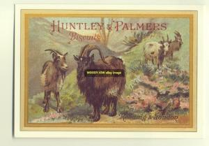 ad1939 - Huntley & Palmers Biscuits - modern advert postcard
