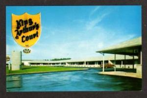 TN King Arthur's Court Motel GREENEVILLE TENNESSEE PC