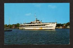 MA Siasconset  HYANNIS NANTUCKET ISLAND MASS Cape Cod Postcard Massachusetts