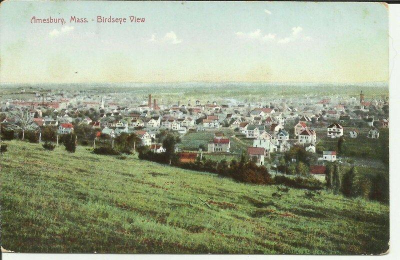 Amesbury,Mass., Birdseye View