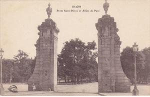Porte Saint-Pierre et Allees du Parc , Dijon (Côte-d´Or), France, 1900-1910s