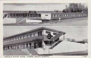Terrace Motor Hotel, Jerry Myers, Mgr., Pierre, South Dakota, 1940-1960s