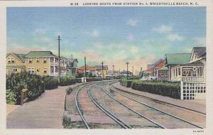 North Carolina Wrightsville Beach Looking South From Station no 1