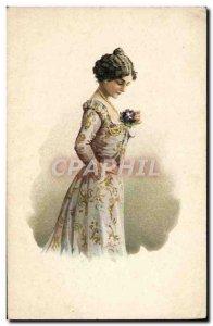 Old Postcard Fantaisie Advertisement Dessert Vernia