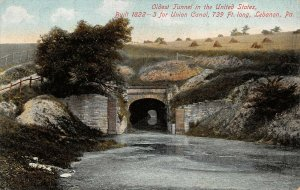 LPS66 Lebanon Pennsylvania Oldest Tunnel in the United States Union Tunnel