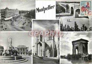 Postcard Modern Montpellier