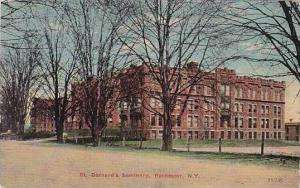 New York Rochester St Bernards Seminary 1913