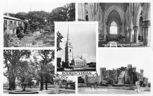 Wales Bodelwyddan, Marble Church, Wayside Cafe, Fountain, College