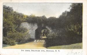 Buffalo New York~Ivy Arch on Delaware Avenue~Zeno Means Good Chewing Gum~1905