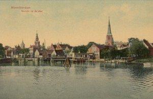 MONNIKENDAM , Netherlands, 1900-10s ; Gezicht op de stad