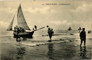 CPA Berck Plage- Le debarquement FRANCE (908744)