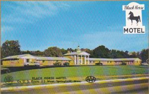 Massachusetts Springfield Black Horse Motel
