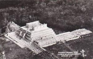 Mexico Merida Yucatan Templo De Los Guerreros Ruinas Chichen-Itza Real Photo
