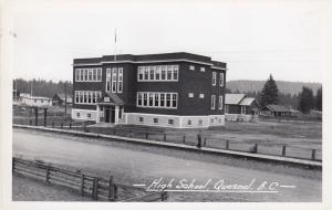 RP ; QUESNEL , B.C. , Canada , 30-40s ; High SChool