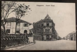 Mint Singapore RPPC Real Picture Postcard Anson Road View