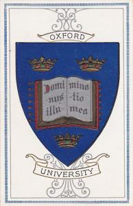 Crests Emblems Oxford University England