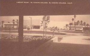 Califorinia El Camino Library Bldg. El Camino College Artvue