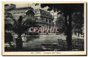 Old Postcard Vichy Casino Riviera Theater