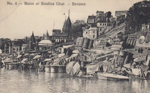 Ruins of Sindhia Ghat - BENARES , India , 00-10s