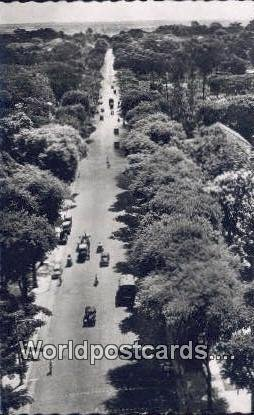 Real Photo Le Boulevard Norodom, Saigon Vu Du Ciel Saigon Vu Du Ciel Vietnam,...