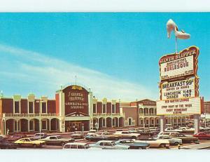 Unused Pre-1980 RISQUE - BURLESQUE AT SILVER SLIPPER Las Vegas NV t4095-23