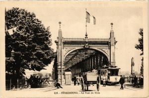CPA AK STRASBOURG - Le Pont du Rhin (276017)