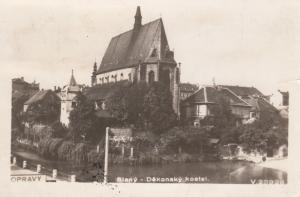 RP; SLANY, Czech Republic, 1930s; Dekansky kostel