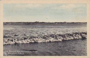 The Bore Of The Petitcodiac River, Moncton, New Brunswick, Canada, 1910-1920s