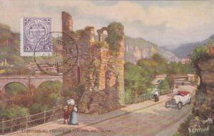 AS, Montee De Clausen Avec Ruines, Luxembourg, 1900-1910s