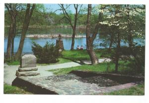 Washington Crossing Delaware Site State Park PA Postcard