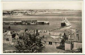 Cornwall; Newlyn Harbour & Penzance 22247 RP PPC By J Salmon, c 1950's, Unused