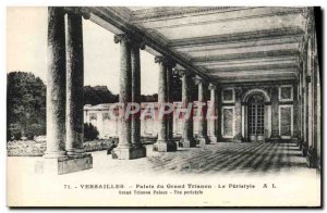 Old Postcard Versailles Palace of the Grand Trianon The peristyle